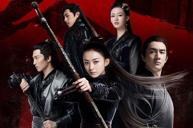 Poster serial drama Cina Princess Agents