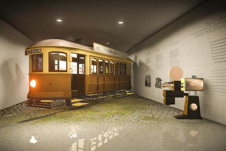 Salah satu museum di World of Wine bernama Porto Region Across The Ages, Portugal.
