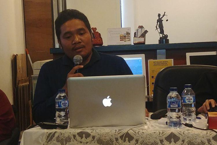 Pengajar Hukum Pidana Sekolah Tinggi Hukum Indonesia Jentera Anugerah Rizki Akbari