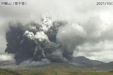 Gunung Aso di Jepang Meletus, Warga Diminta Waspada Aliran Lava