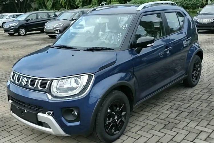 Ilustrasi Suzuki Ignis Facelift