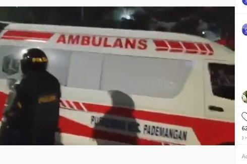 [KLARIFIKASI] Viral Mobil Ambulans Angkut Batu untuk Demonstran