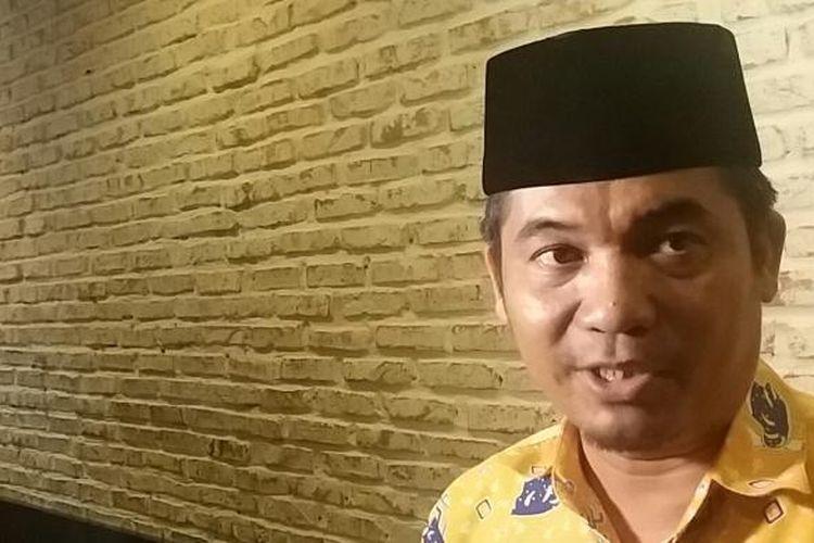Direktur Eksekutif Lingkar Madani (LIMA) Indonesia, Ray Rangkuti usai acara diskusi di bilangan Thamrin, Jakarta Pusat, Minggu (17/4/2016)