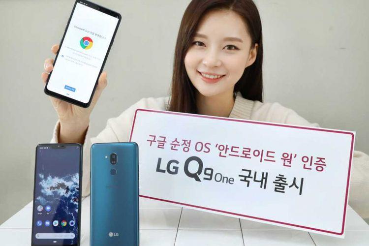 LG merilis Q9 One, ponsel rebrand dari LG G7 One