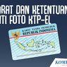 INFOGRAFIK: Syarat dan Ketentuan Ganti Foto KTP Elektronik