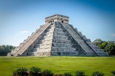 Piramid Suku Maya Sebagian Dibangun dari Abu Vulkanik Letusan Gunung Berapi