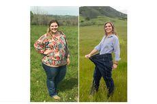 Dengan Cinta, Perempuan Ini Turunkan Berat Badan hingga 55 Kg