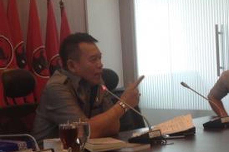 Politisi PDI Perjuangan TB Hasanuddin