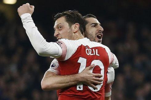 Arsenal Vs Bournemouth, Oezil dan Mkhitaryan Gemilang