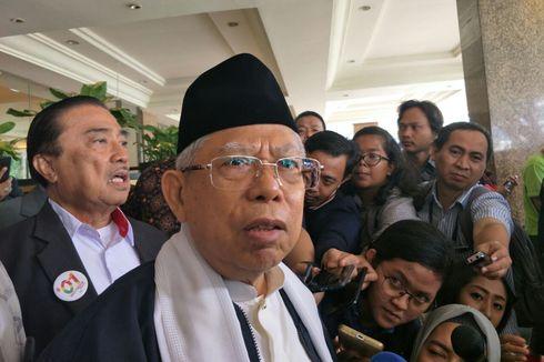 Ma'ruf Amin: Jokowi Telah Bangun