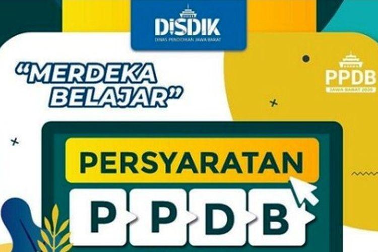 Tangkapan layar PPDB 2020 Jabar.