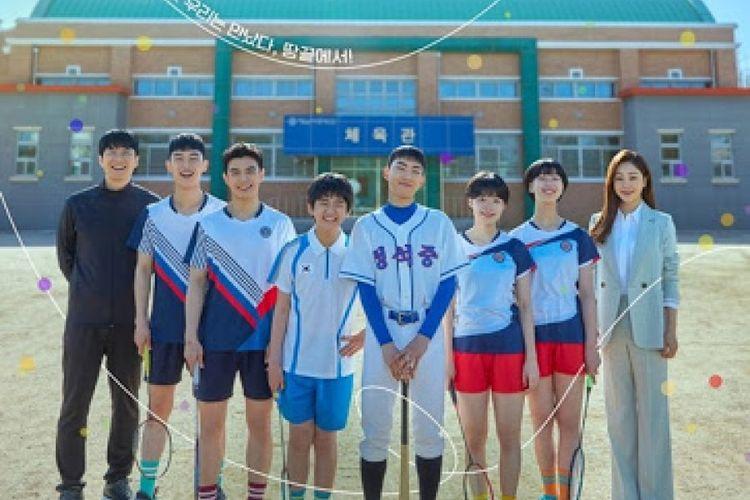 Poster serial drakor terbaru, Racket Boys.