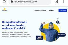 Urundayacovid.com, Situs Tempat Warga Urunan Informasi Vaksinasi hingga Tempat Isolasi