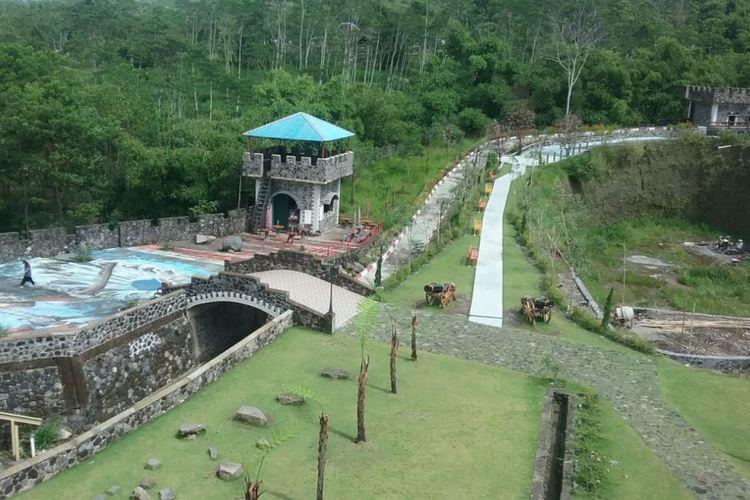 Tempat wisata The Lost World Castle Sleman Yogjakarta. Kompas.com/Slamet Priyatin