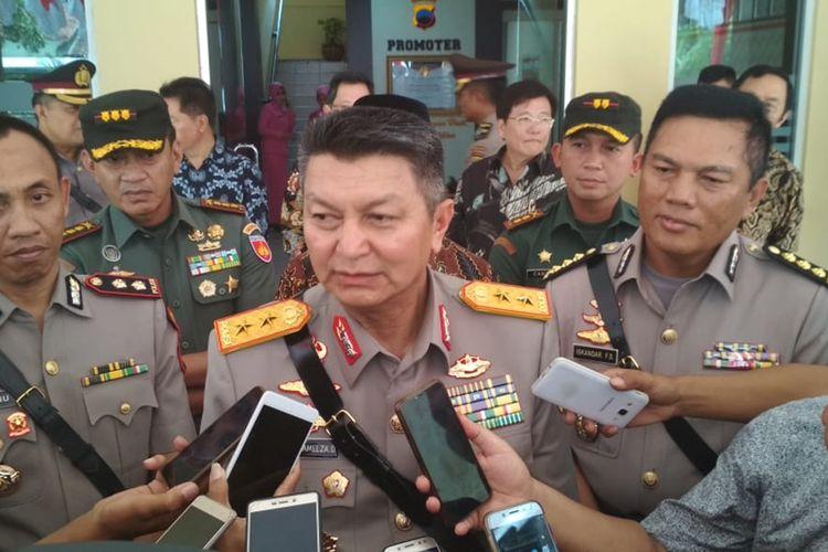 Kapolda Jateng Irjen Pol Rycko Amelza Dahniel di Mapolresta Banyumas, Jumat (6/12/2019).