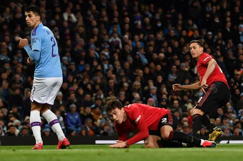 Man City Vs Man United, The Citizens Susul Aston Villa ke Final