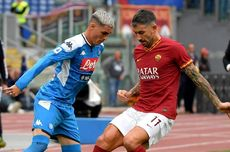 Napoli Vs AS Roma, Gol Melengkung Insigne Tumbangkan Serigala Ibu Kota