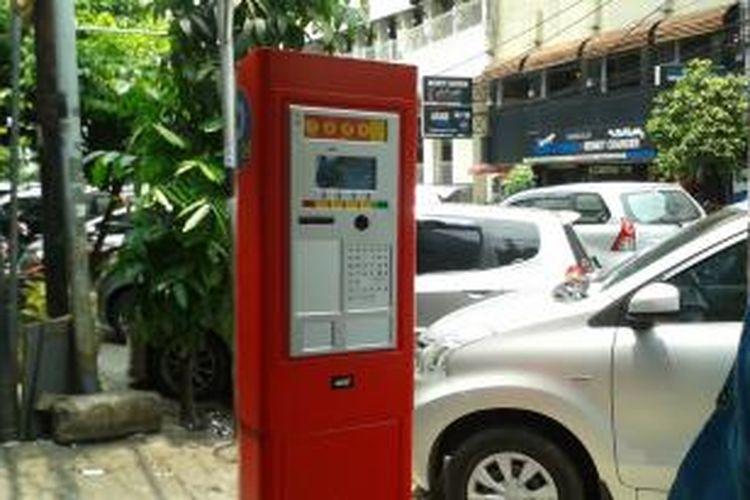 Meteran parkir di Jalan H Agus Salim atau Jalan Sabang, Jakarta Pusat, Rabu (1/10/2014).
