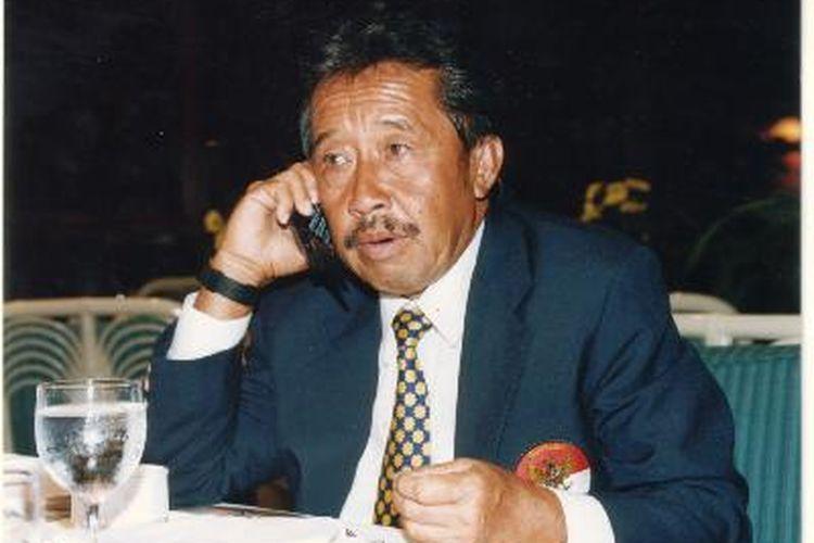 Mantan Menperindag zaman kabinet Soeharto. Foto diambil pada 6 Mei 2005.