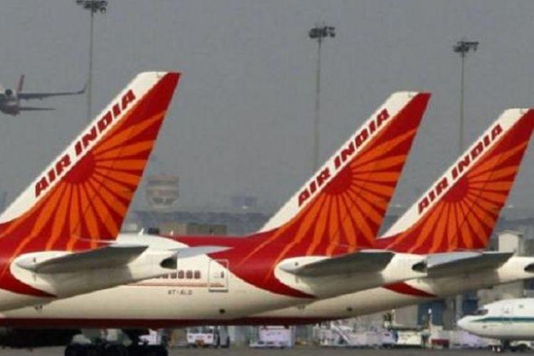 Maskapai penerbangan Air India.