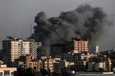Pesawat Tempur Israel Hantam  Pertahanan Hamas di Jalur Gaza