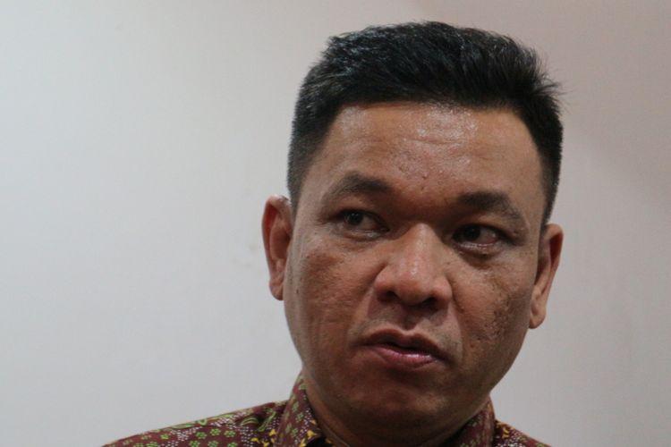 Wakil Sekretaris Jenderal DPP Partai Golkar Ace Hasan Syadzily ketika ditemui, di kantor Saiful Mujani Research & Consulting (SMRC), Jakarta, Kamis (2/11/2017).