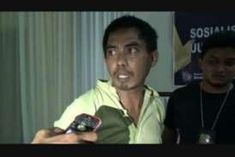 Ketua PPS Pemilihan Gubernur Sulawesi Barat bersama empat rekannya diringkus oleh Satuan Narkotika Polres Polewali Mandar, Rabu malam (21/9/2016).