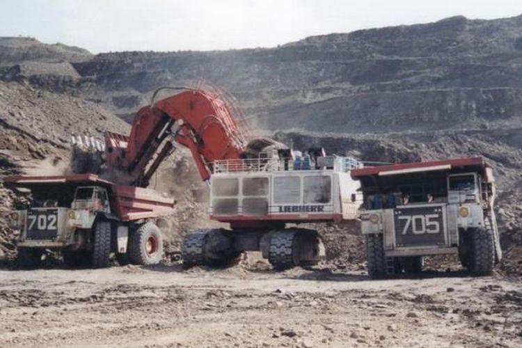 Ilustrasi: areal tambang batubara
