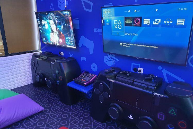Sony bersama PSe membuka Play Lounge di Jakarta Utara.