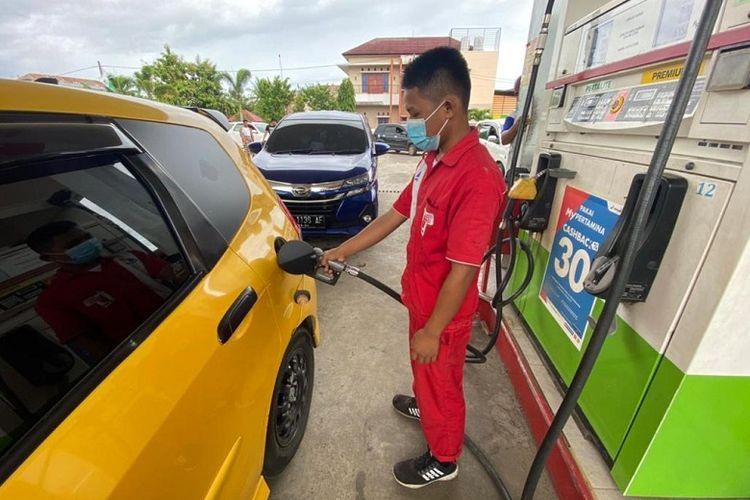 PT Pertamina memastikan stok BBM dan LPG di Kabupaten Mamuju dan Majene Sulawesi Barat (Sulbar) tetap aman pascagempa berkekuatan magnitude 6,5, Jumat (15/1/2020)