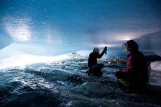 Gua Es di Bawah Gletser Austria Ungkap Kisah Runtuhnya Gletser Pegunungan Alpen