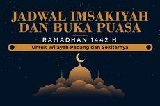 Jadwal Imsak dan Buka Puasa di Kota Padang Hari Ini, 19 April 2021
