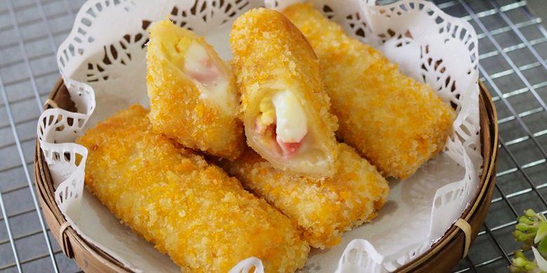 Resep Risol Mayo Daging Asap Untuk Jualan