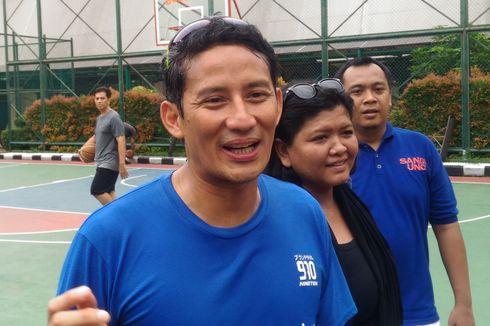 Pola Hidup Sehat Ala Keluarga Sandiaga Uno, Olahraga hingga Bawa Bekal