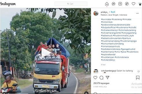 Ketahuan Oleng dan ODOL, Sopir dan Pemilik Truk Bisa Kena Sanksi