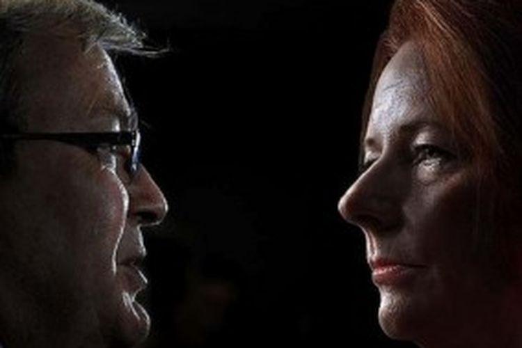 Mantan Perdana Menteri Australia Kevin Rudd akan menantang Perdana Menteri Julia Gillard dalam pemilihan pemimpin Partai Buruh malam ini