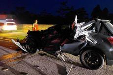 Terlibat Tabrakan dengan Mobil Wakapolres Lampung Utara, Pengemudi Truk Kabur, Polisi: Masih Kami Kejar