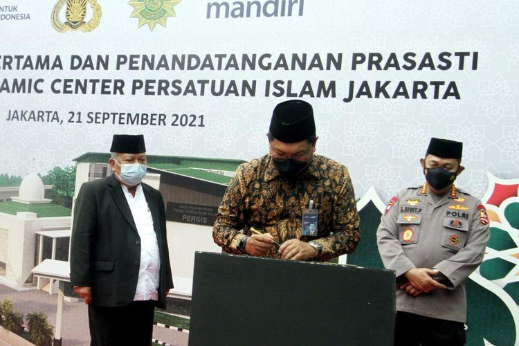 Bank Mandiri Salurkan Bantuan Rp 5 Miliar untuk Islamic Center