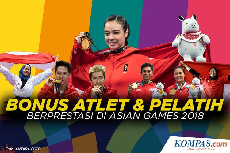 Bonus Atlet dan Pelatih berprestasi di Asian Games 2018