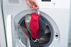 Simak, 6 Kesalahan dalam Mencuci Masker Kain