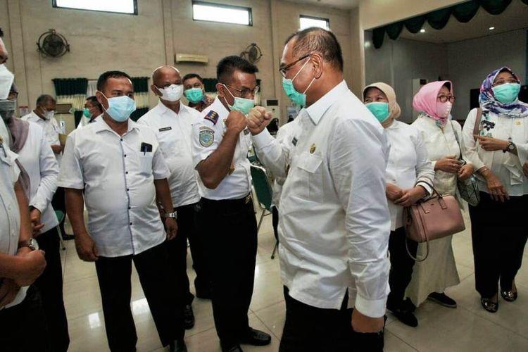 Plt Wali Kota Medan Akhyar Nasution memasuki masa cuti sebagai Plt wali kota Medan. Akhyar akan memulai masa kampanye dan tahapan pilkada lainnya sebagai calon wali kota Medan bersama pasangannya Salman Alfarisi, Kamis (24/9/2020)