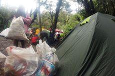 Pengelola Gunung Gede-Pangrango: Gunung Bukan Tempat Sampah