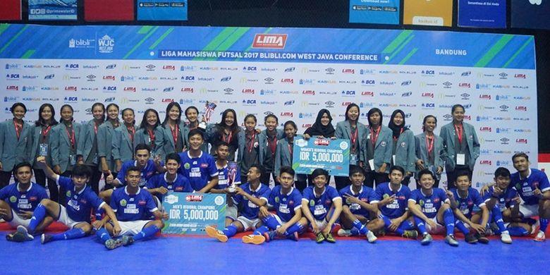 Universitas Islam Nusantara (UNINUS) muncul sebagai juara, pengumpul poin tertinggi selama kompetisi yang mengambil tempat  di Lapangan Progresif, Bandung, pada 1-6 Agustus ini.