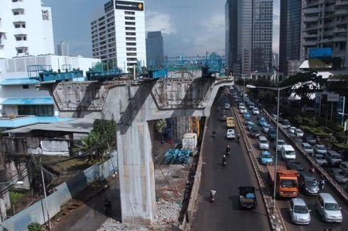 Desember, Target Jokowi Uji Coba JLNT Kampung Melayu-Tanah Abang