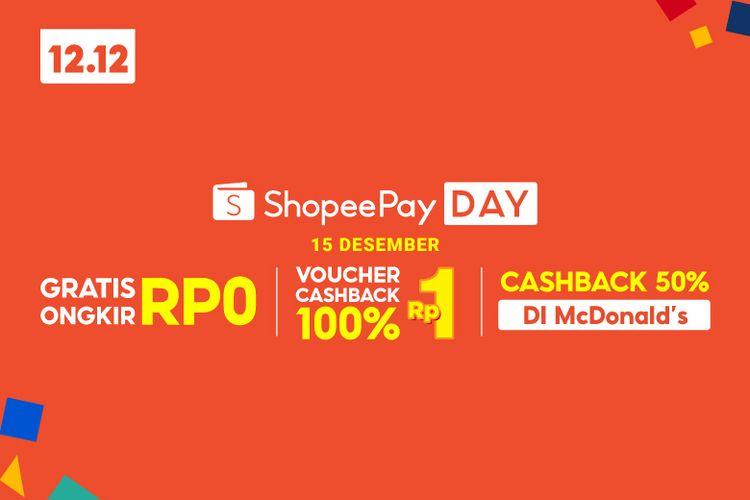 ShopeePay kembali menghadirkan ShopeePay Day dengan menggandeng McDonald?s Indonesia.