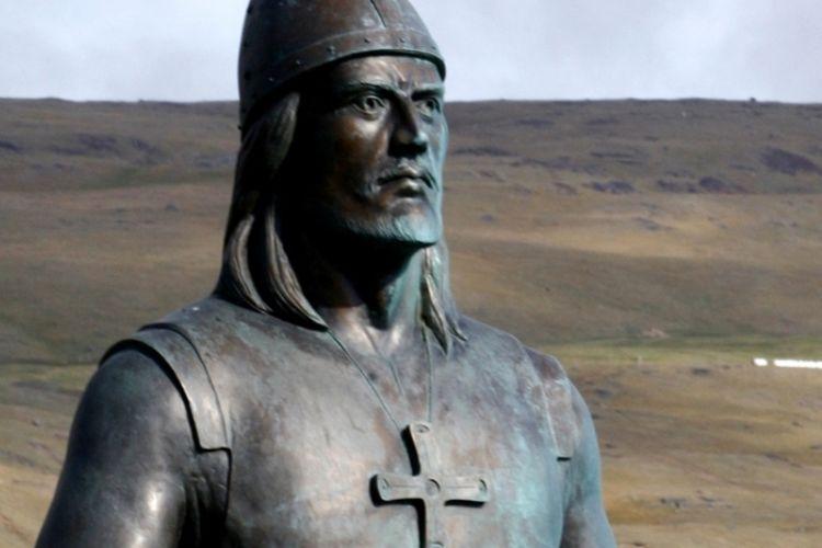 Leif Eriksson. (History)