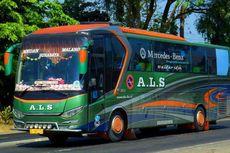 Aksesoris yang Jamak Dipakai Bus Sumatera, Lampu Sorot di Depan