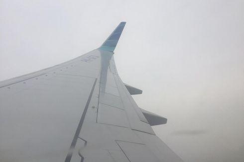 Jarak Pandang Minim, Pesawat Garuda Tujuan Pangkalpinang Return to Base