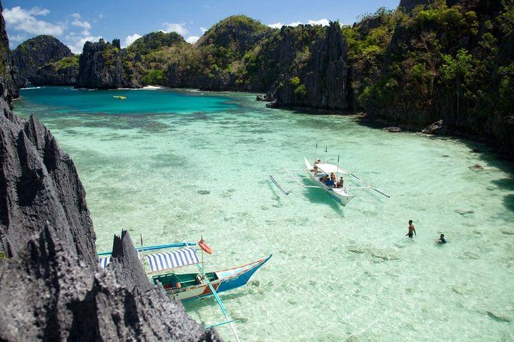 Pulau Palawan di Filipina