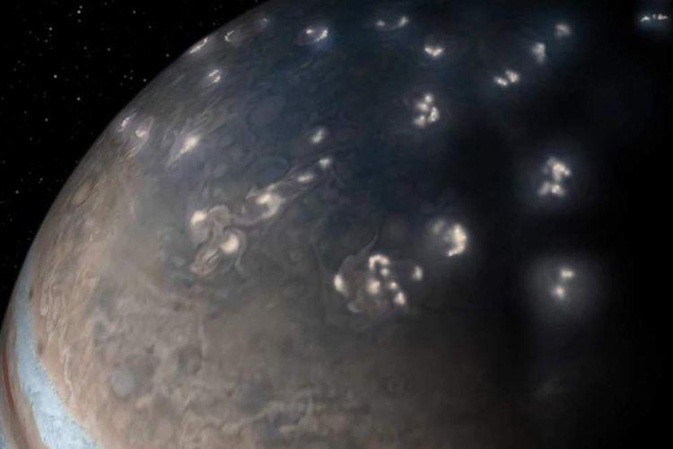 Badai Petir Jupiter